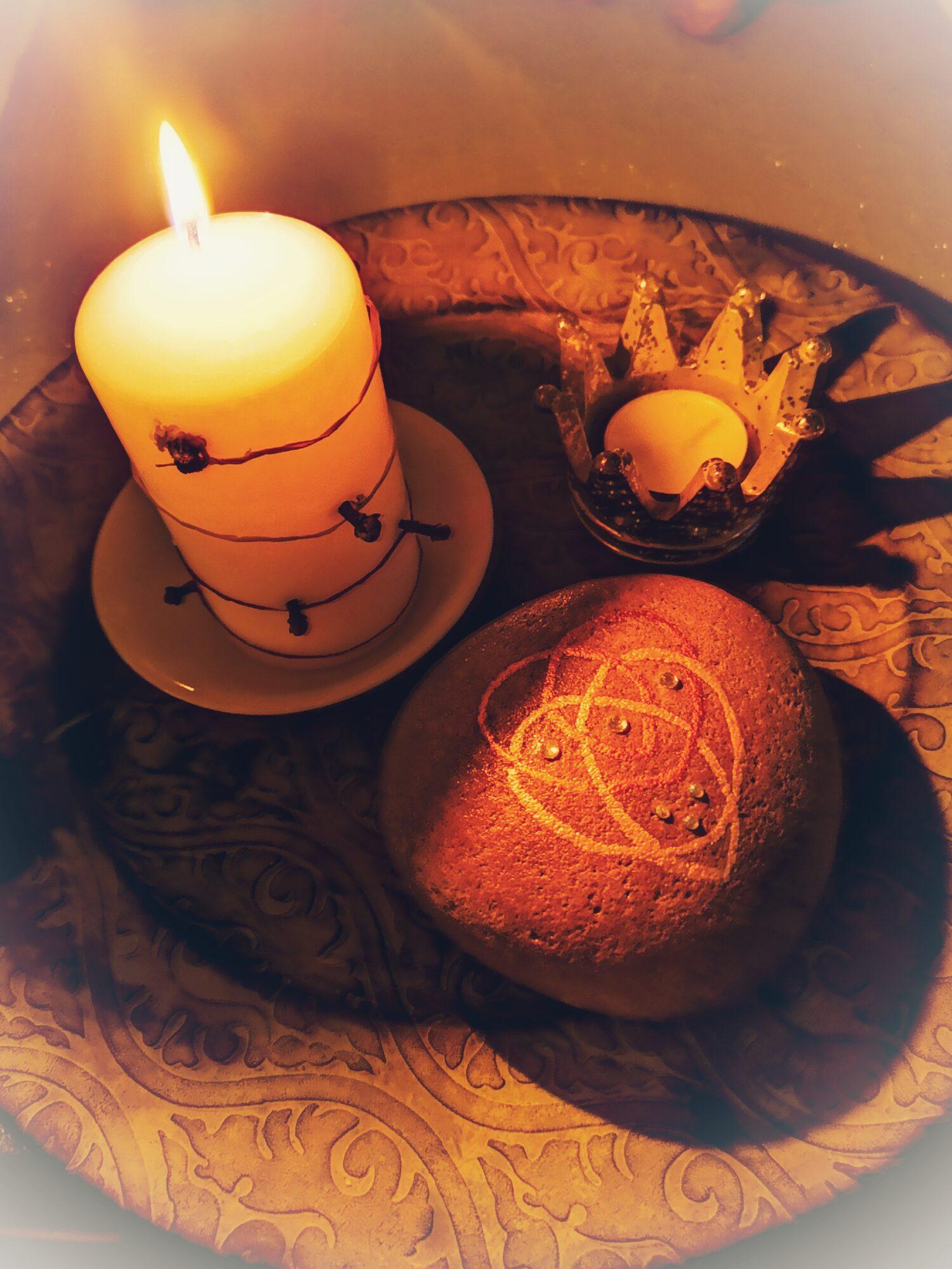 Magisches Kerzenritual